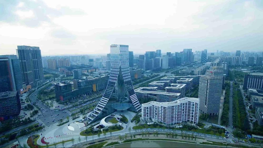 Image of Hi Tech zone in Chengdu